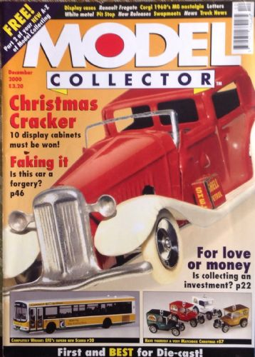 ORIGINAL MODEL COLLECTOR MAGAZINE December 2000